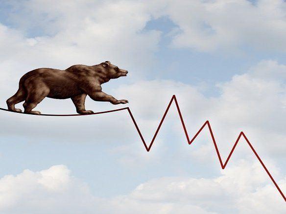 بازار منفی و خرسی